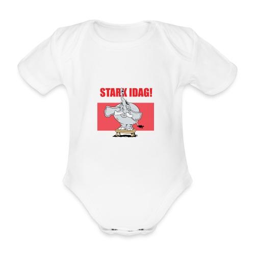 Stark idag - Ekologisk kortärmad babybody