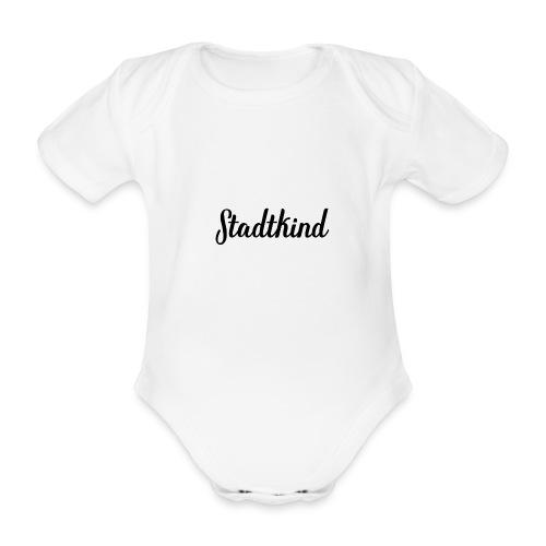 stadtkind - Baby Bio-Kurzarm-Body