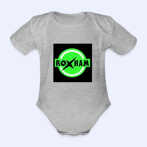 RoxHam-Button-2019 - Baby Bio-Kurzarm-Body