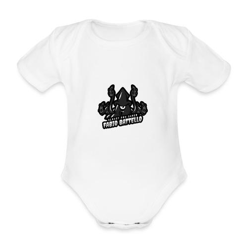Almost pro gamer MONO - Body ecologico per neonato a manica corta