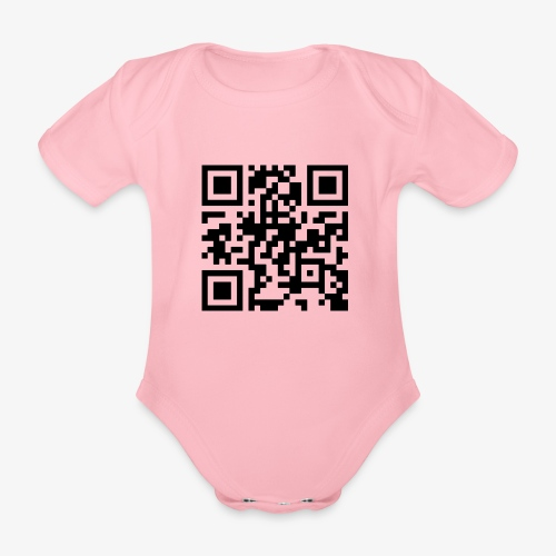 QR Code - Organic Short-sleeved Baby Bodysuit
