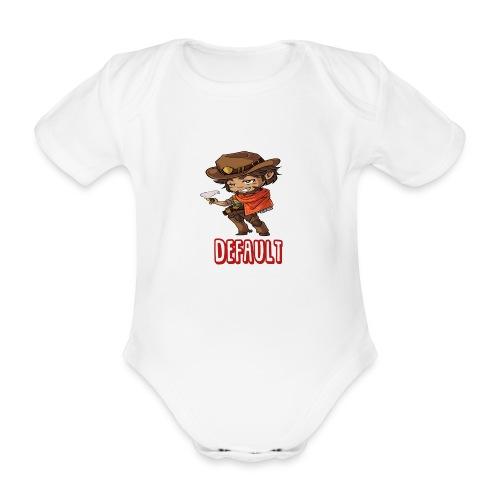 DeF Clan logo - Økologisk kortermet baby-body