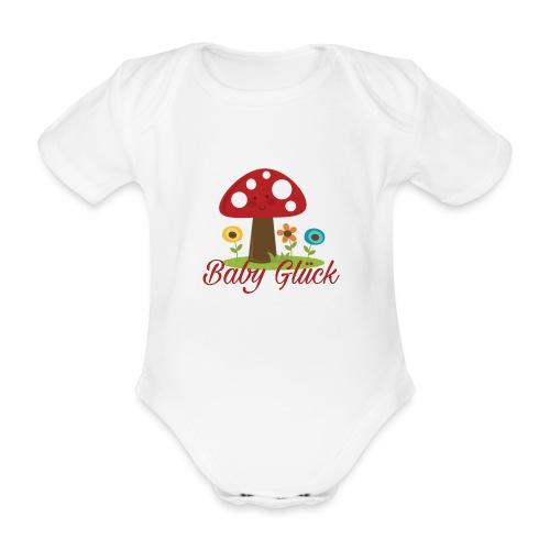 Baby Glück - Baby Bio-Kurzarm-Body