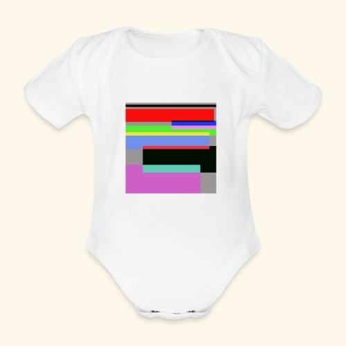Artistico27 - Body ecologico per neonato a manica corta