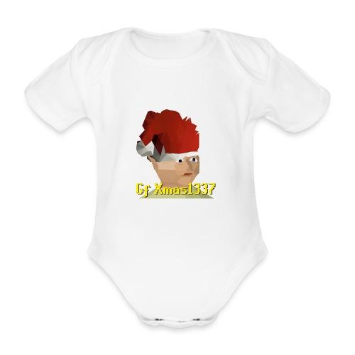 Gnomechild Christmas - Økologisk kortermet baby-body