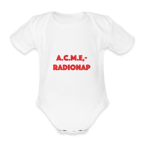 acmeradionaprot - Baby Bio-Kurzarm-Body
