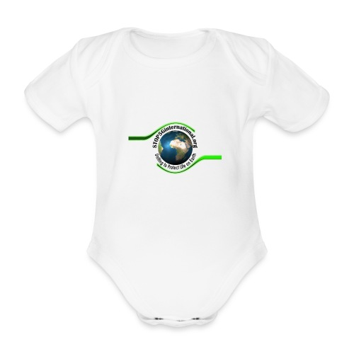 STOP5G - Organic Short-sleeved Baby Bodysuit