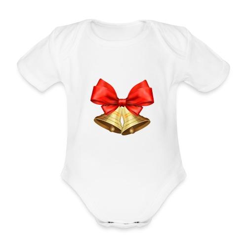 Pngtree christmas bell 3715872 - Body orgánico de manga corta para bebé