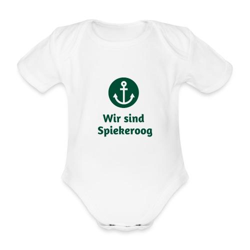 Wir sind Spiekeroog Freunde Sortiment - Baby Bio-Kurzarm-Body