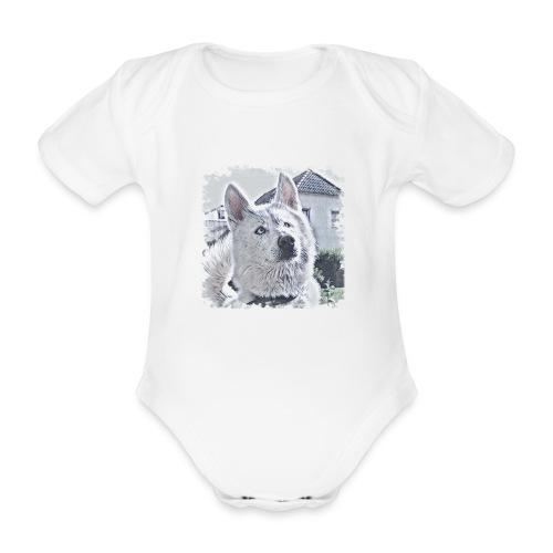 Pass auf - Baby Bio-Kurzarm-Body
