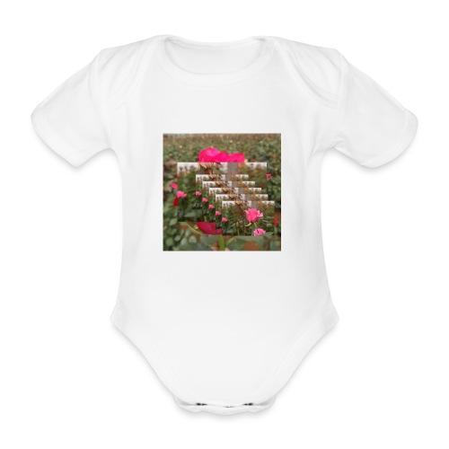 reste sig - Ekologisk kortärmad babybody