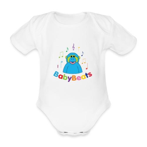 BabyBeats - Organic Short-sleeved Baby Bodysuit