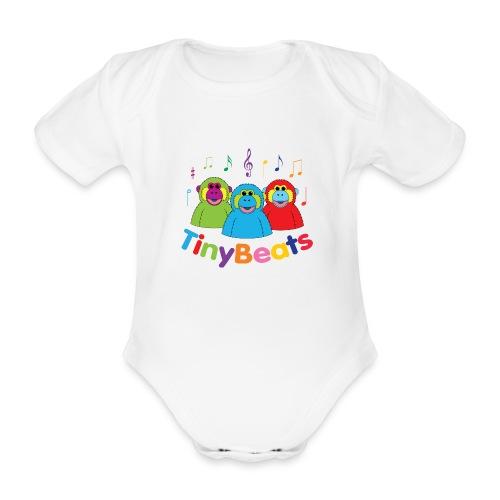 TinyBeats - Organic Short-sleeved Baby Bodysuit