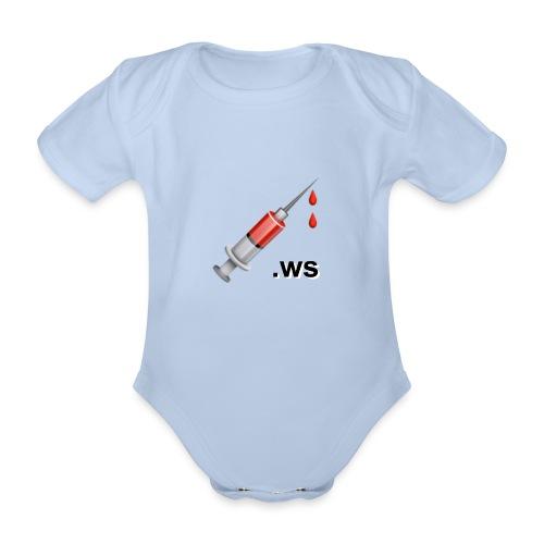 Spritze, 💉.ws - Baby Bio-Kurzarm-Body