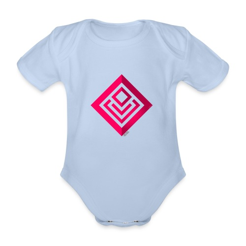 Cabal (with label) - Organic Short-sleeved Baby Bodysuit