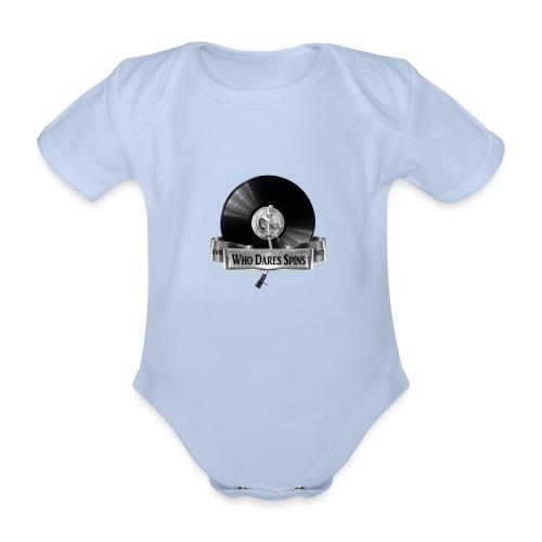 Badge - Organic Short-sleeved Baby Bodysuit