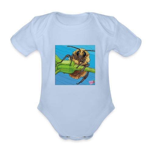 Bi - Kortærmet babybody, økologisk bomuld