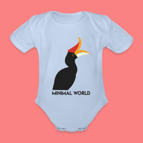 BUCERO - Body ecologico per neonato a manica corta