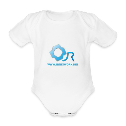 Official Logo - Organic Short-sleeved Baby Bodysuit