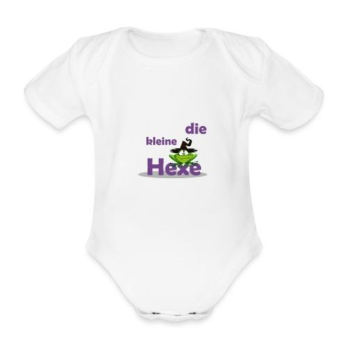 Baby Bio-Langarm-Body Kleine Hexe Wunschname - Baby Bio-Kurzarm-Body
