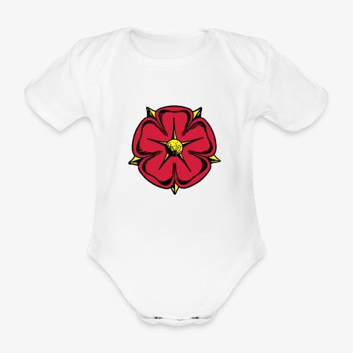 Lippische Rose - Baby Bio-Kurzarm-Body