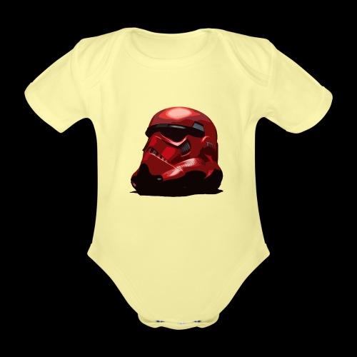 Guardian Trooper - Organic Short-sleeved Baby Bodysuit