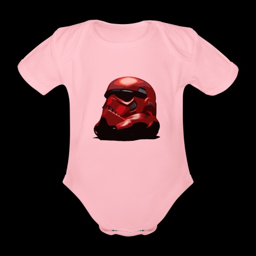 Guardian Trooper - Organic Short-sleeved Baby Bodysuit