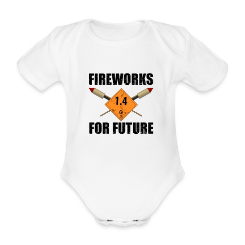 Fireworks for Future Pyro - Baby Bio-Kurzarm-Body