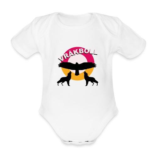 VRÅKBOLL - Ekologisk kortärmad babybody