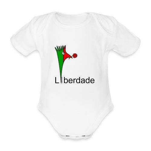 Galoloco - Liberdaded - 25 Abril - Body Bébé bio manches courtes