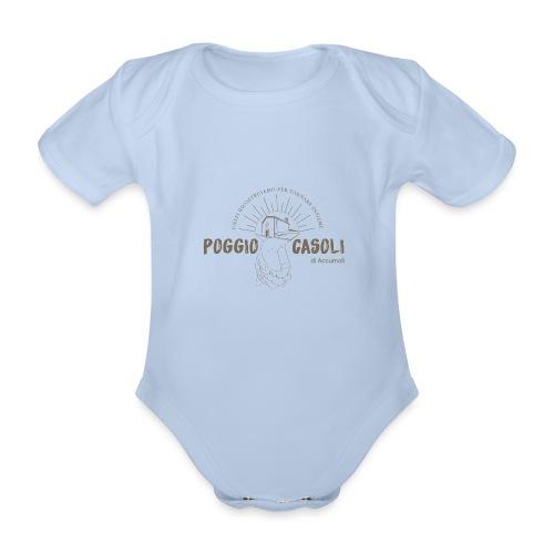 Poggio Casoli_Istituzionale - Body ecologico per neonato a manica corta