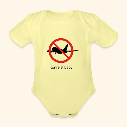 Short-lived baby - Organic Short-sleeved Baby Bodysuit