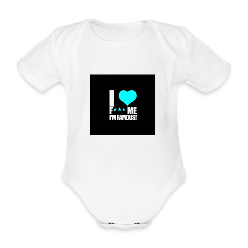 I Love FMIF Badge - Body Bébé bio manches courtes