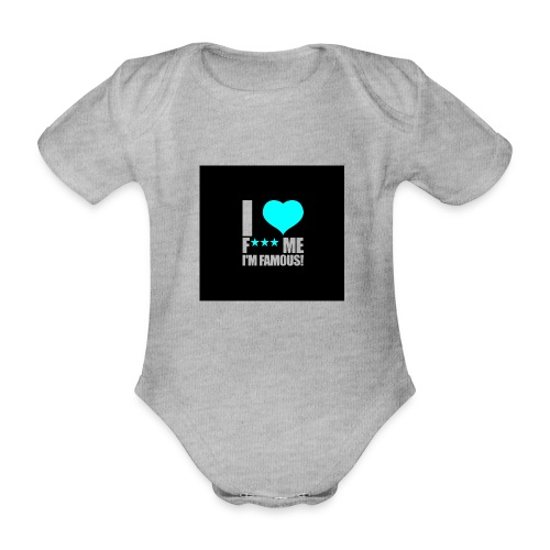 I Love FMIF Badge - Body Bébé bio manches courtes