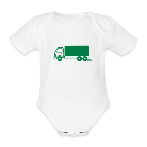 LKW lang - Baby Bio-Kurzarm-Body
