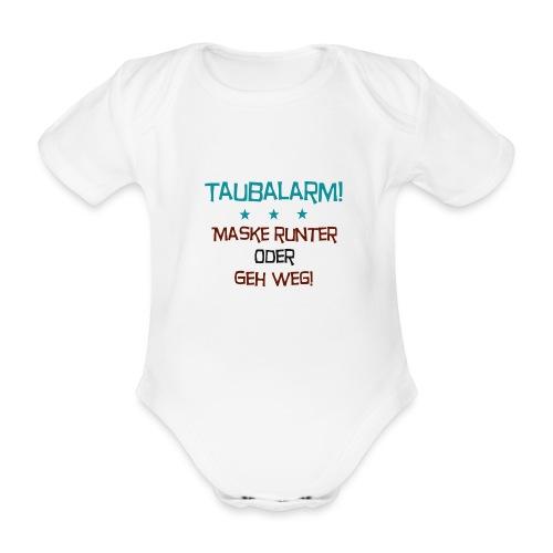 Taubalarm - Baby Bio-Kurzarm-Body