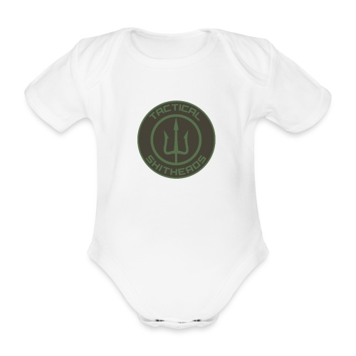 Tactical Shitheads Logo - Baby Bio-Kurzarm-Body