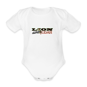 Tribal Judah Gears - Organic Short-sleeved Baby Bodysuit