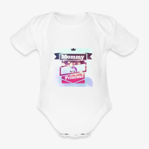 Mommy & Princess - Baby Bio-Kurzarm-Body