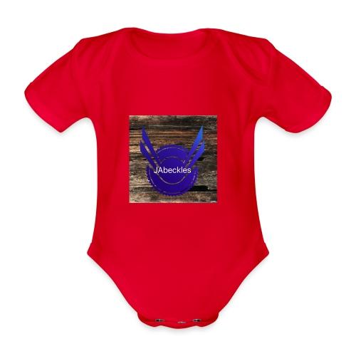 JAbeckles - Organic Short-sleeved Baby Bodysuit