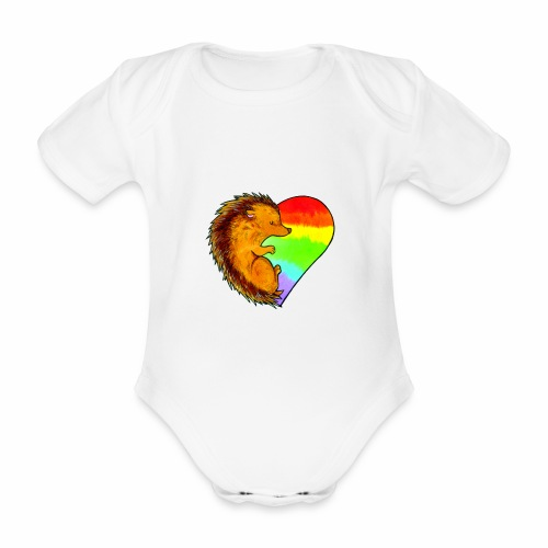 RICCIO - Body ecologico per neonato a manica corta