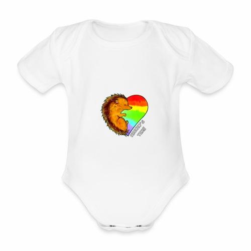RICCIO'S TIME - Body ecologico per neonato a manica corta