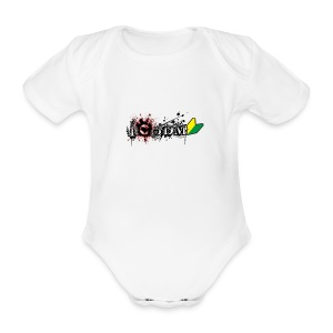 I Love JDM - Organic Short-sleeved Baby Bodysuit