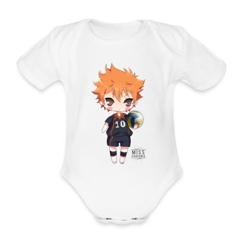 Haikyuu! shopper - Body ecologico per neonato a manica corta