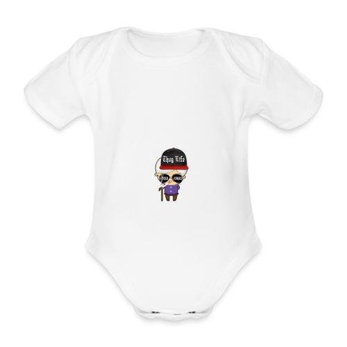 Angry Granny T-shirt - Baby Bio-Kurzarm-Body
