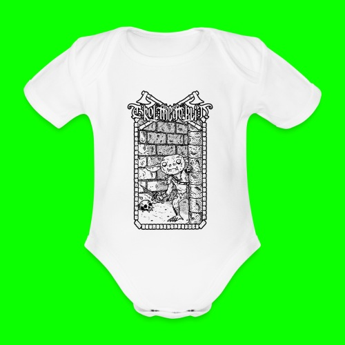 Return to the Dungeon - Organic Short-sleeved Baby Bodysuit