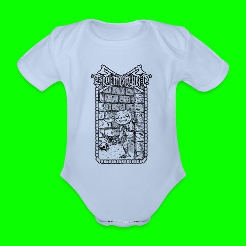 Return to the Dungeon - Organic Short-sleeved Baby Bodysuit