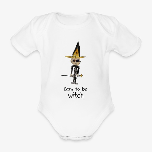 Born to be WITCH - Body Bébé bio manches courtes