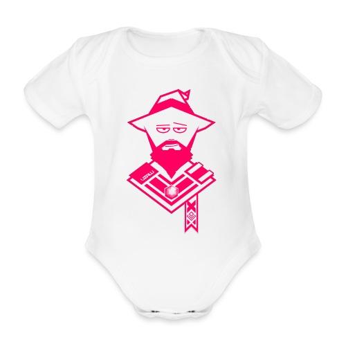 uzalu the Wizard - Organic Short-sleeved Baby Bodysuit