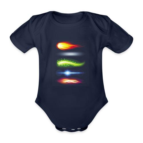 FLAME - Baby Bio-Kurzarm-Body